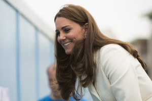 HRH The Duchess of Cambridge. The Royal Patron of the 1851 Trust adds personal touch to BAR HQ art project alongside 72 local children Images free for editorial use: Credit Lloyd Images