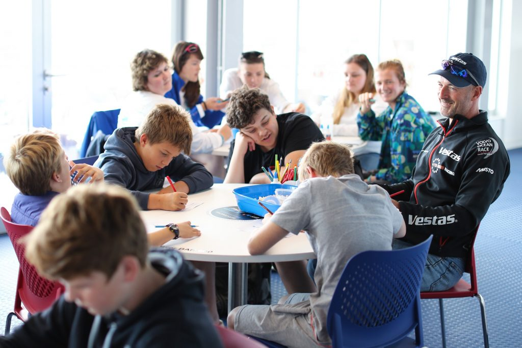 Vestas 11th Hour sailors join 1851 Trust to deliver sustainability workshop
